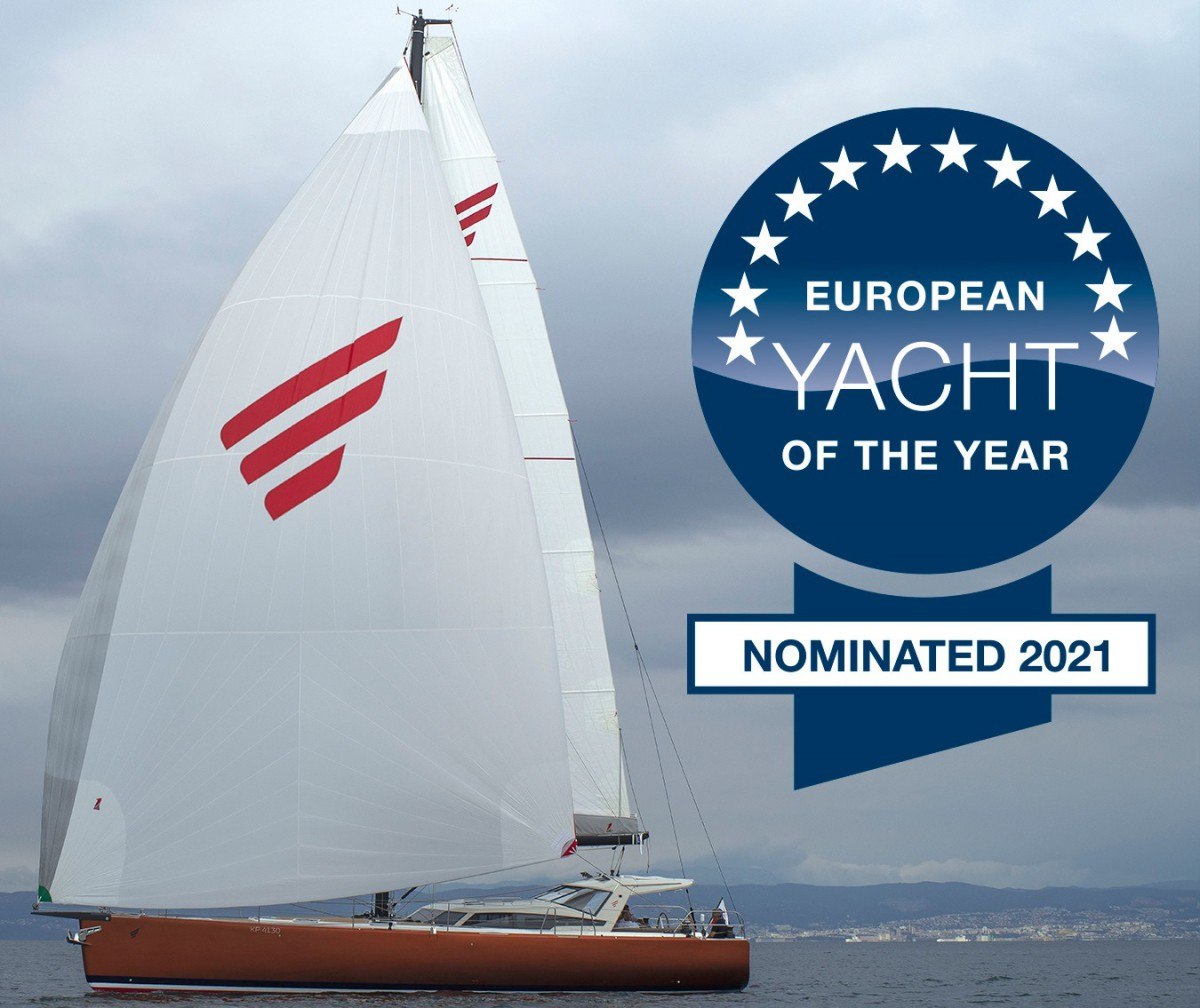 Pegasus 50 nominated for European Yacht of 2021